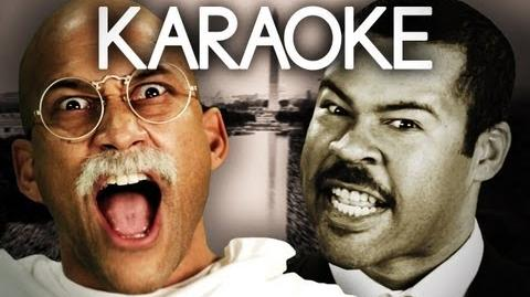 KARAOKE ♫ Gandhi vs Martin Luther King Jr. Epic Rap Battles of History