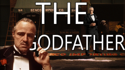 The Godfather Title Card