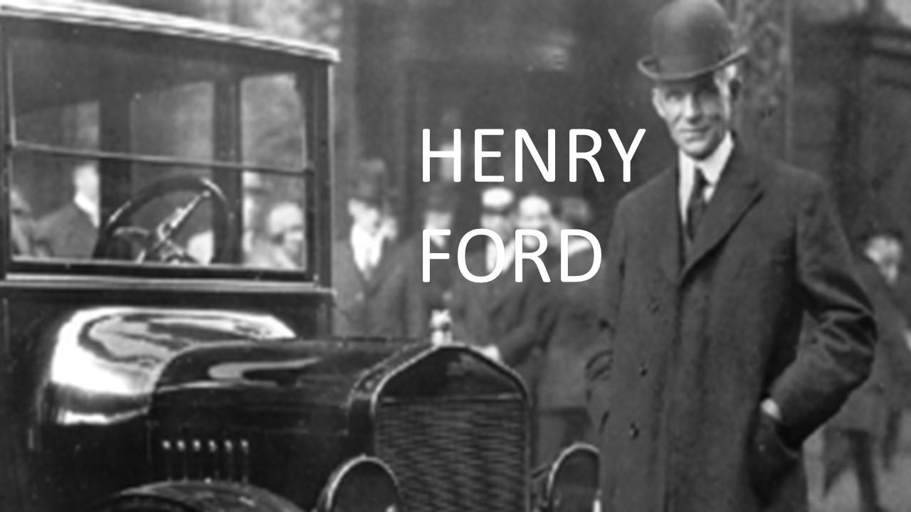 User blog:ERBWarrior/WERB S1 - Henry Ford vs Elon Musk