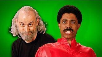 George Carlin vs Richard Pryor. ERB Behind the Scenes