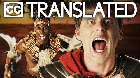 TRANSLATED Shaka Zulu vs Julius Caesar. Epic Rap Battles of History