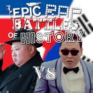 Psy vs kim jong un