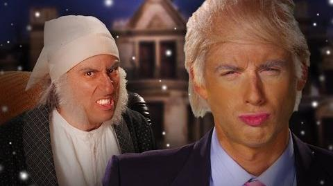 Donald Trump vs Ebeneezer Scrooge. Epic Rap Battles of History Season 3