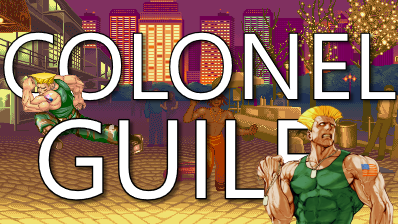 Guile TItle Card