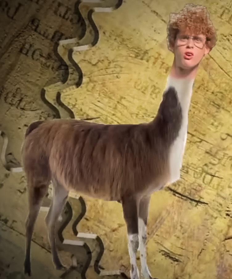 Image - Napoleon Dynamite As Tina The Llama.png | Epic Rap ...