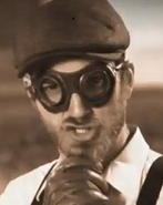 Wilbur Wright With Goggles