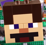 EpicLLOYD as Lego Steve