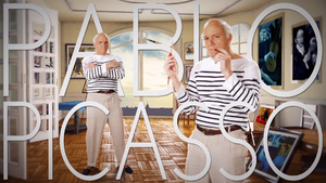 Pablo Picasso Title Card
