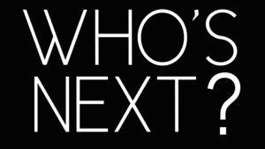 Blank Who's Next