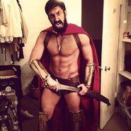 Leonidas Behind The Scenes