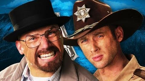 Rick Grimes vs Walter White. Epic Rap Battles of History Season 3
