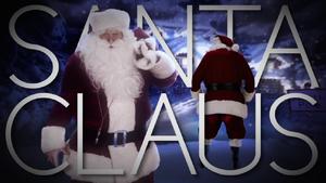 Santa Claus Title Card