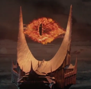 The Eye of Sauron Based On
