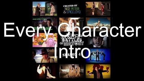 Every Character Intro (Season 4)