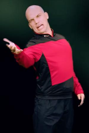 Jean-Luc Picard Cameo