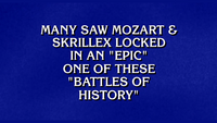 Mozart vs Skrillex Jeopardy