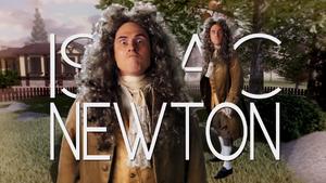 Isaac Newton Title Card