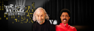 George Carlin vs Richard Pryor Twitter Banner