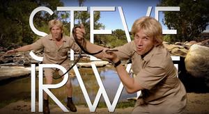 Steve Irwin Title Card