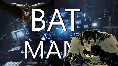 Batman Title Card Frank Miller Credit