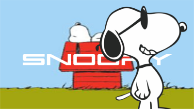 Snoopy Title Card