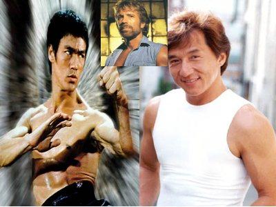 Bruce lee vs jackie chan