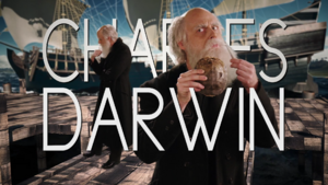 Charles Darwin Title Card