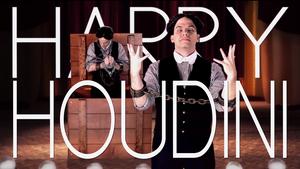 Harry Houdini Title Card