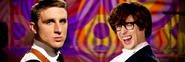 James Bond vs Austin Powers Banner
