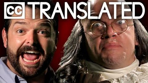 TRANSLATED Billy Mays vs Ben Franklin. Epic Rap Battles of History