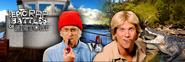 Jacques Cousteau vs Steve Irwin Twitter Banner