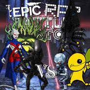 Comic Aliens vs Video Game Aliens