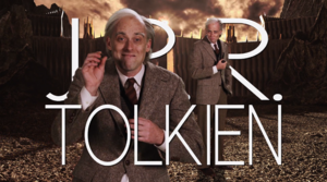 J. R. R. Tolkien Title Card