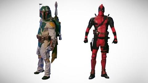 Deadpool vs Boba Fett