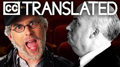 TRANSLATED Steven Spielberg vs Alfred Hitchcock. Epic Rap Battles of History