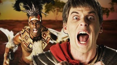 Shaka Zulu vs Julius Caesar. Epic Rap Battles of History Season 4