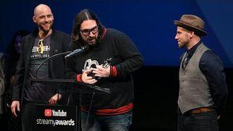 Morgan Christensen wins Costume Design - Epic Rap Battles of History Streamys Premiere Awards 2019
