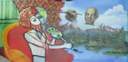 Bob Ross vs Pablo Picasso Drawing