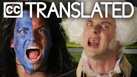 TRANSLATED George Washington vs William Wallace. Epic Rap Battles of History