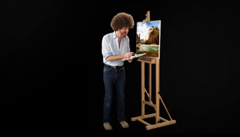 Bob Ross vs Pablo Picasso