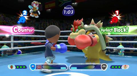 Mario and Sonic At The Rio 2016 Olympic Games Boxing- Mii(Request 1)