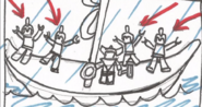 Thor's Viking Ship Storyboard 2