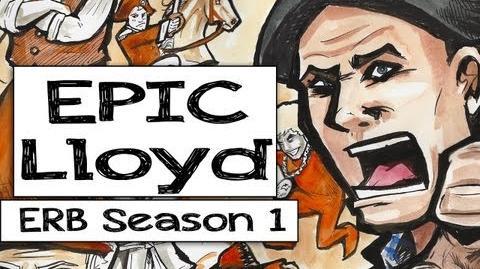 Epic Lloyd - Epic Rap Battles of History fan art - Season 1