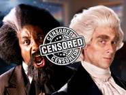 Frederick Douglass vs Thomas Jefferson Censored Thumbnail