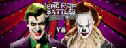 The Joker vs Pennywise Facebook Banner