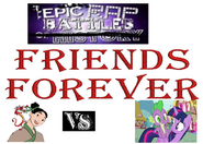 Mulan and mushu vs twilight sparkle and spike