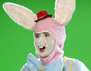The Easter Bunny in His Hat