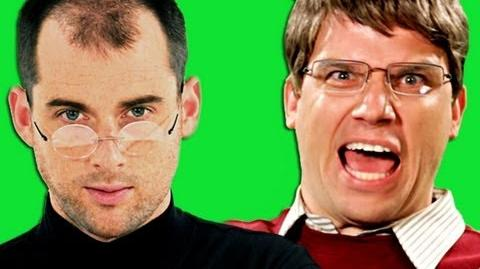 Epic Rap Battles Of History - Behind the Scenes - Steve Jobs vs Bill Gates.