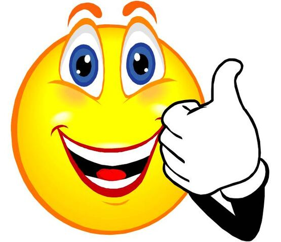 image smiley face thumbs up thank you free clipart images jpg rh epicrapbattlesofhistory wikia com free clip art thumbs up emoji free online clipart thumbs up