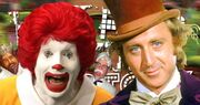 Ronald McDonald Vs Willy Wonka
